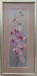 Картина «Орхидеи», ручная работа
