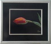 Картина «Объяснение в любви», ручная работа,  вышивка.