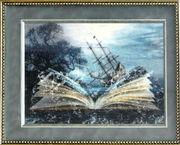 Картина  «Книга», ручная работа