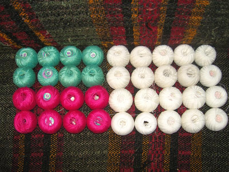 Пряжа для вязания снежинка 73