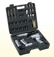 Набор пневмоинструмента LX-008,  34 предмета
