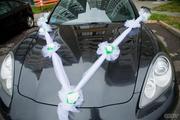 Прокат или продажа стильных свадебных украшений на авто.