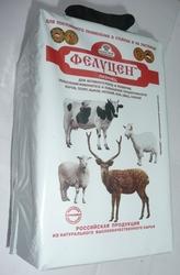 Соль лизунец Фелуцен универсальный (для КРС,  коз и овец)