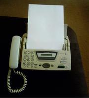 Факс Panasonic KX-FT72RU белый (БУ) в Минске, Минск, продажа Стационарные телефоны Минск, цена Факс Panasonic...