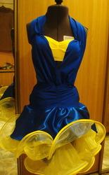 Платье  для бальных танцев  латина.