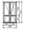 Распродажа Окон Пвх дверь балконная ОК- 9