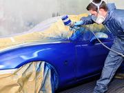 Сто предлагает услуги по покраске автомобилей.