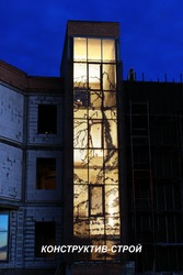 Перфорированные фасады (перфорированные панели)