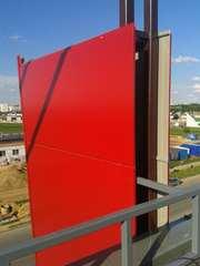 Монтаж композитных алюминиевых панелей
