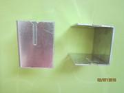 Салазка алюминиевая со втулкой