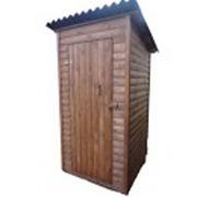 Туалет для дачи,  дачный,  деревянный,  сборный.
