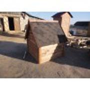 Дом для колодца из гибкой черепицы