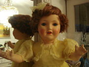 Антикварная  кукла 1940 года