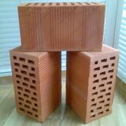 Блоки керамические поризованные пустотелые. Доставка.