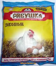 Витоминно-минеральная добавка (премикс) для кур-несушек,  РЯБУШКА,  500г.