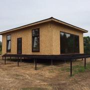 Строительство домов из СИП-панелей по канадской технологии.