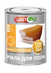 Краска эмаль для пола ПФ-266 - Купить лакокраску оптом в Беларуси