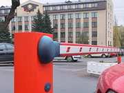 Шлагбаум автоматический. Шлагбаум в Минске
