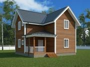 Финские Каркасные дома с фундаментом в подарок!
