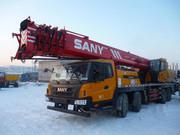Аренда автокрана SANY STC 750 (75 тонн)