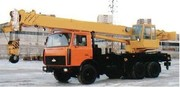 Аренда Автокрана (40 тонн)