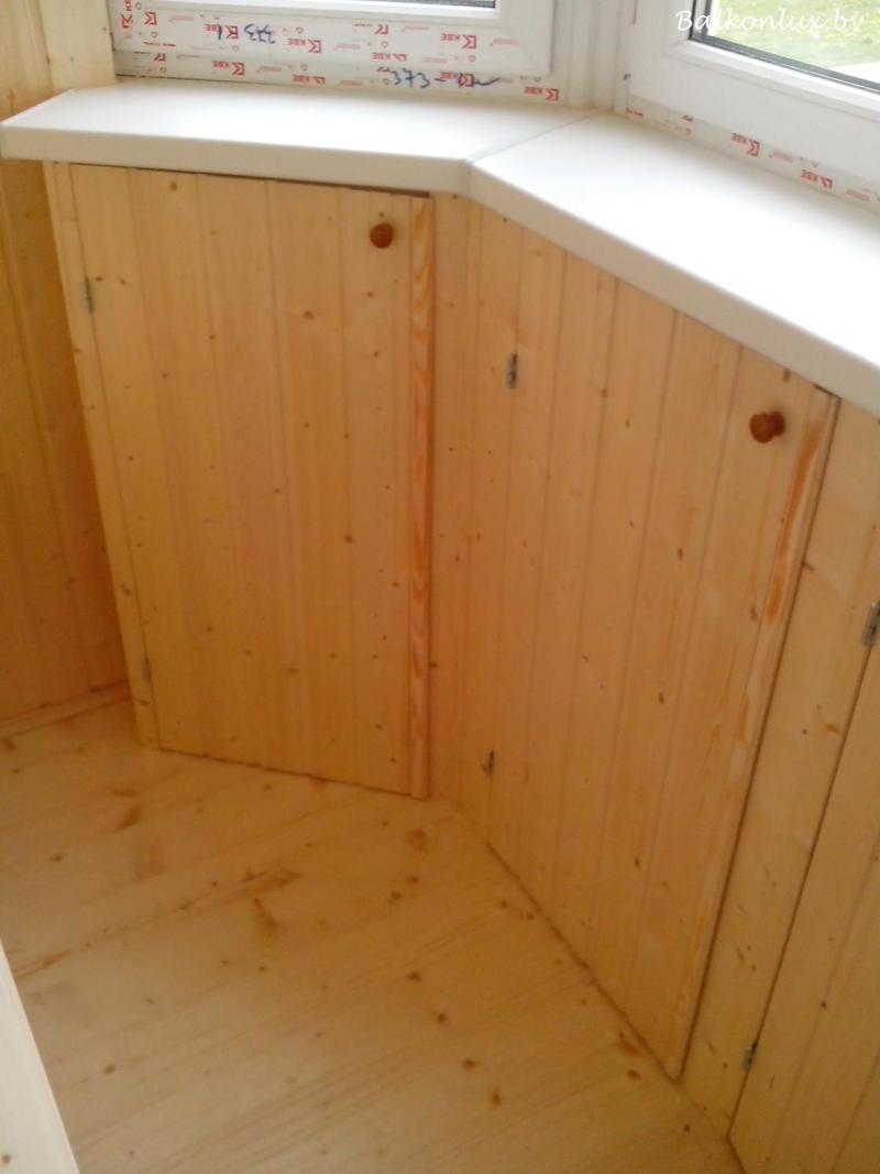 Делаем деревянный пол на балконе выбор материала, минск.