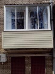 Наружная отделка балкона пластиком Минск