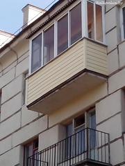 Наружная отделка балкона Экономия 60%