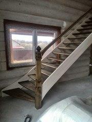 Акция до 28 февраля Лестница любой сложности из массива дерева