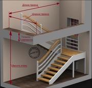 Проектирование лестниц.с замером. Минск и область.