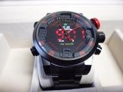 Мужские Спортивные Часы Weide WH2309 RED (Кварцевые)