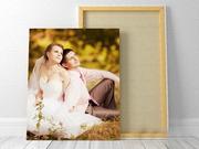 Печать фотографий,  фотоколлажей на холсте