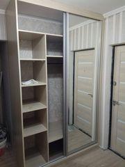 Встроенный шкаф купе,  дизайн любой сложности