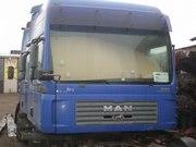 Кабины б/у для грузовиков MAN TGA