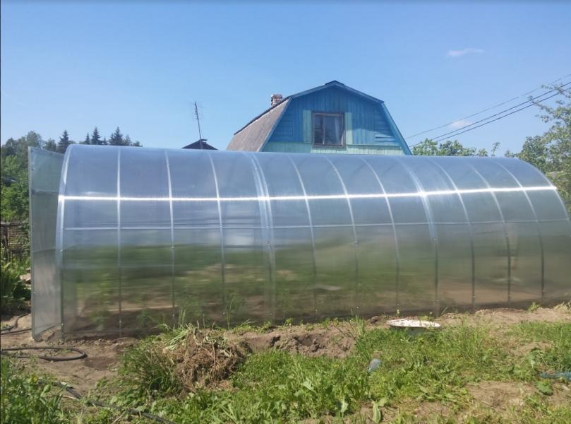Теплицу из поликарбоната для богатого урожая
