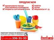 Пластиковая и бумажная одноразовая посуда