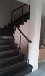Обошьем бетонную лестницу деревом любых пород