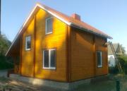 Дачный недорогой Дом из бруса с установкой Старые дороги и район