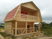 Дом из бруса 6х7, 5 м доставка, установка в Несвиж