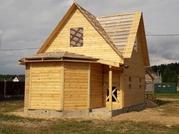 Сруб Дома из бруса Настя 6×8 доставка/установка