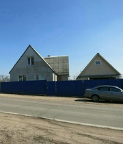 Смиловичи,  25 км. от МКАД.  Одноэтажный дом из сруба с пристройкой 7*8