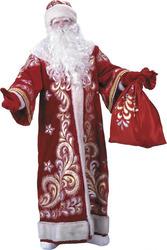 Экспресс-поздравление Деда Мороз. Бюджетный вариант