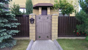 Кованые ворота и калитки,  заборы,  лестничные ограждения,  балконы.