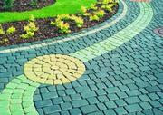 Укладка тротуарной Плитки,  мощение дорожек от 35м2 Зеленый Бор