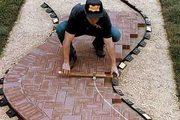 Укладка тротуарной Плитки,  мощение дорожек от 35м2 Ивенец