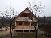 Построим Сруб Дома брус Офелия 6 х 6м в Березино
