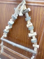 Качели для ожереловых, сенегальских, пиррур, аратинг и др.Свое изготовлен