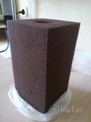 Губка 10х20 для фильтрации аквариума