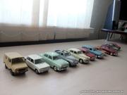 Срочно!!!Модели 12шт Автолегенды СССР