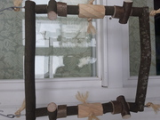 Крупные качели для жако, амазона, ары, какаду, эклектуса, александрийских